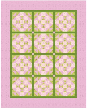 Baby pink_green